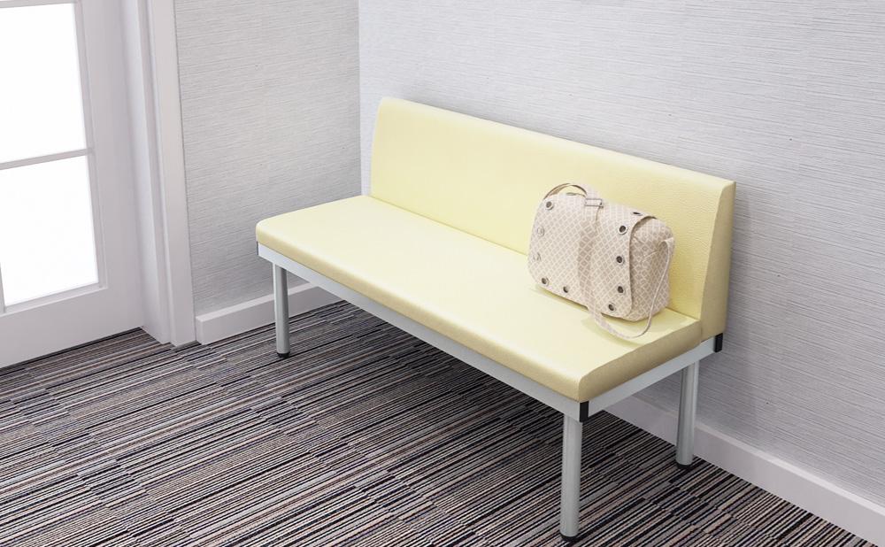 ベンチ ロビーチェア 長椅子 使用イメージ