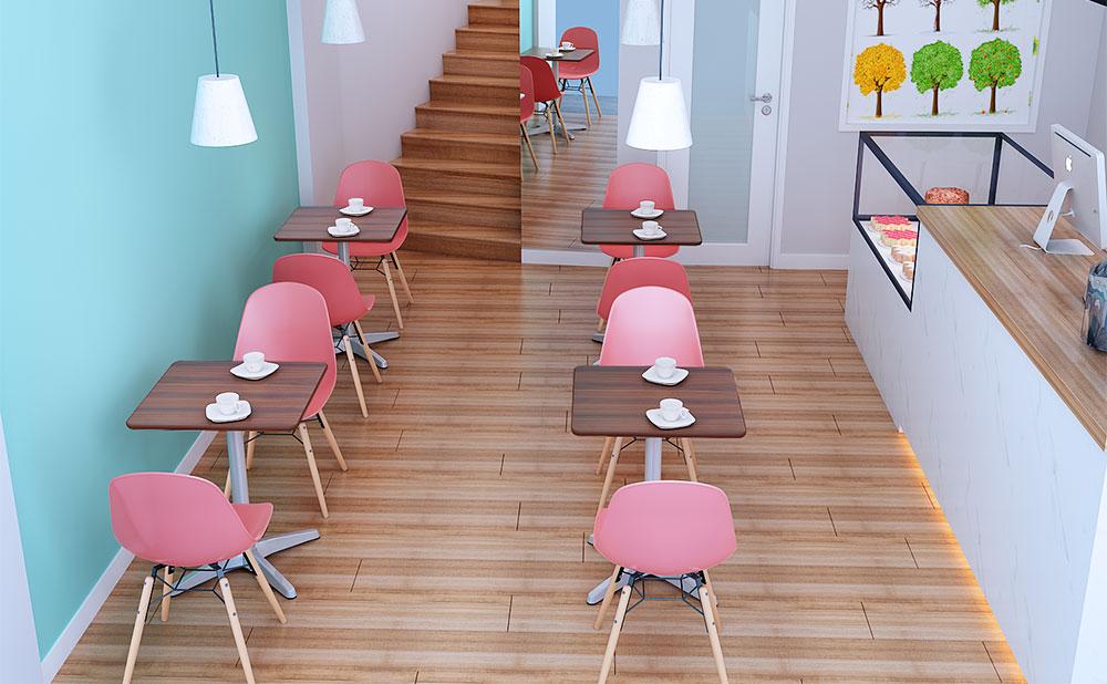 カフェテーブル 使用イメージ
